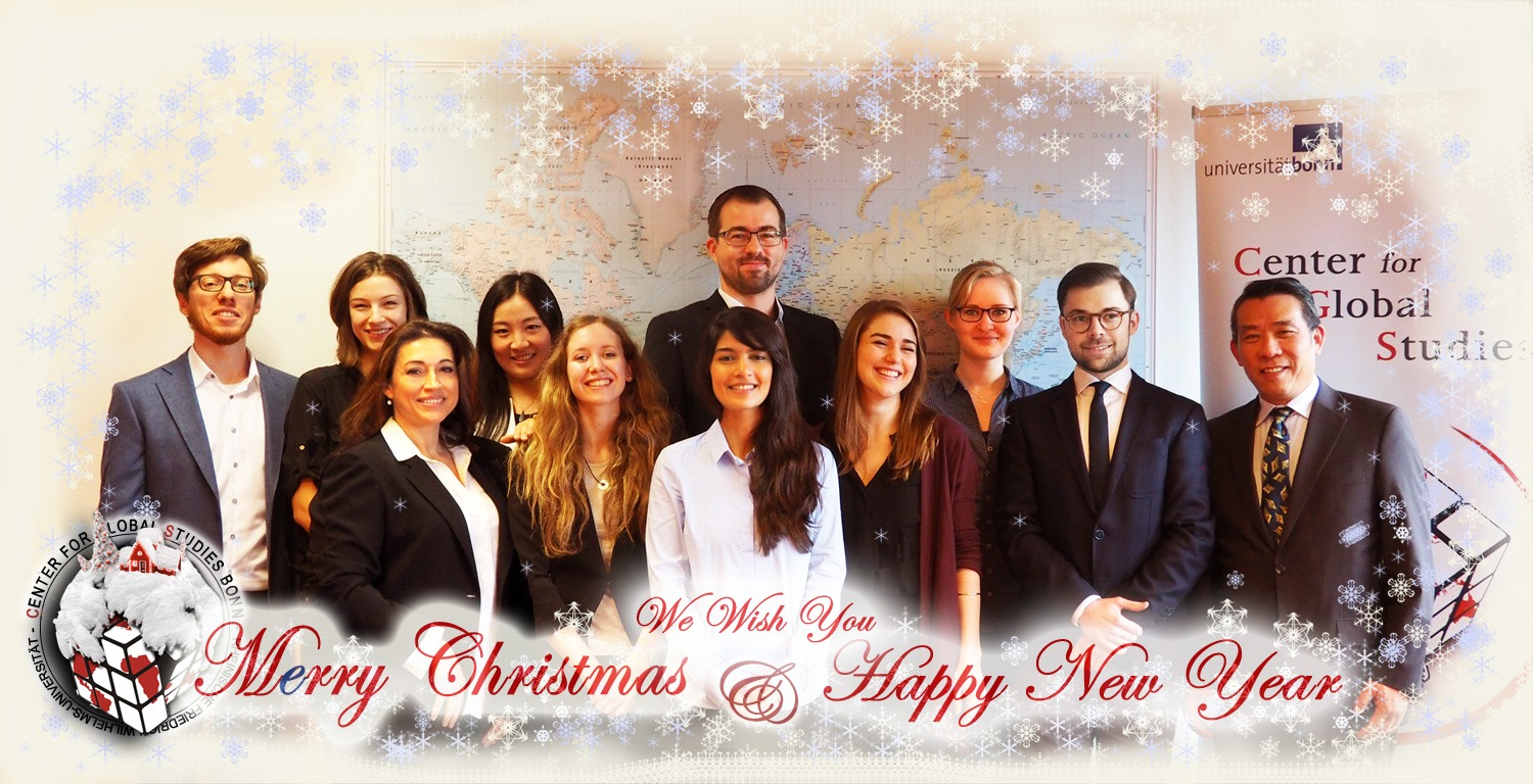 We Wish You Merry Christmas and a Happy New Year!