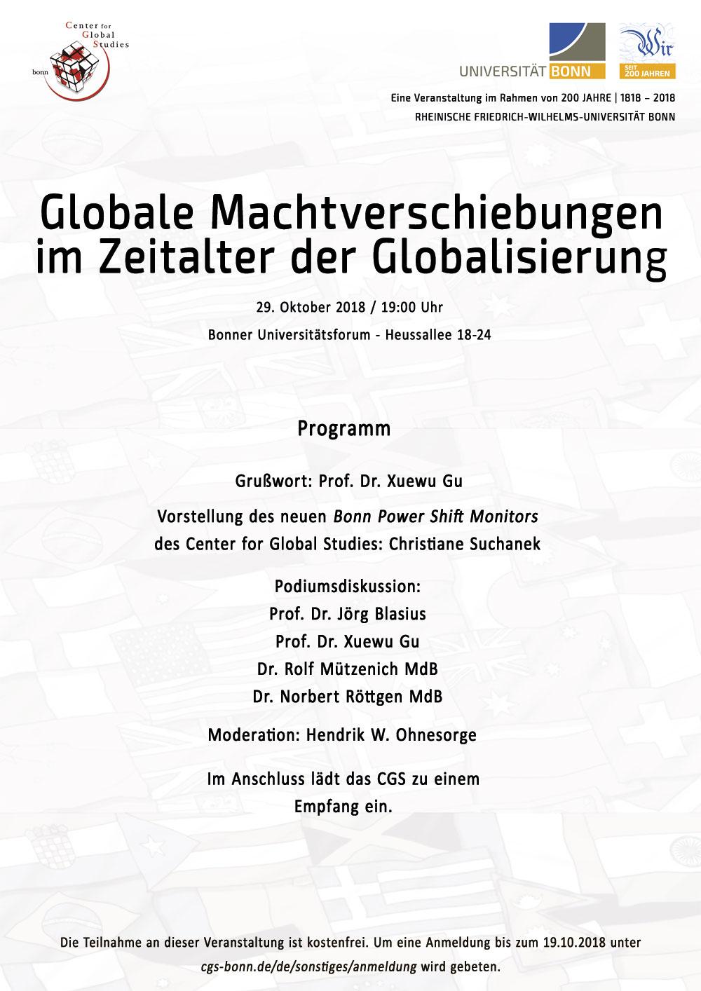 Globale Machtverschiebungen im Zeitalter der Globalisierung