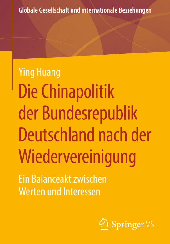 Dissertation by Dr. Ying Huang now available at Springer VS