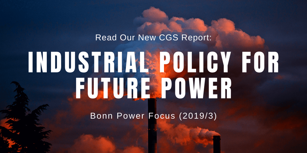 All Eyes on Germany: Industrial Policy for Future Power