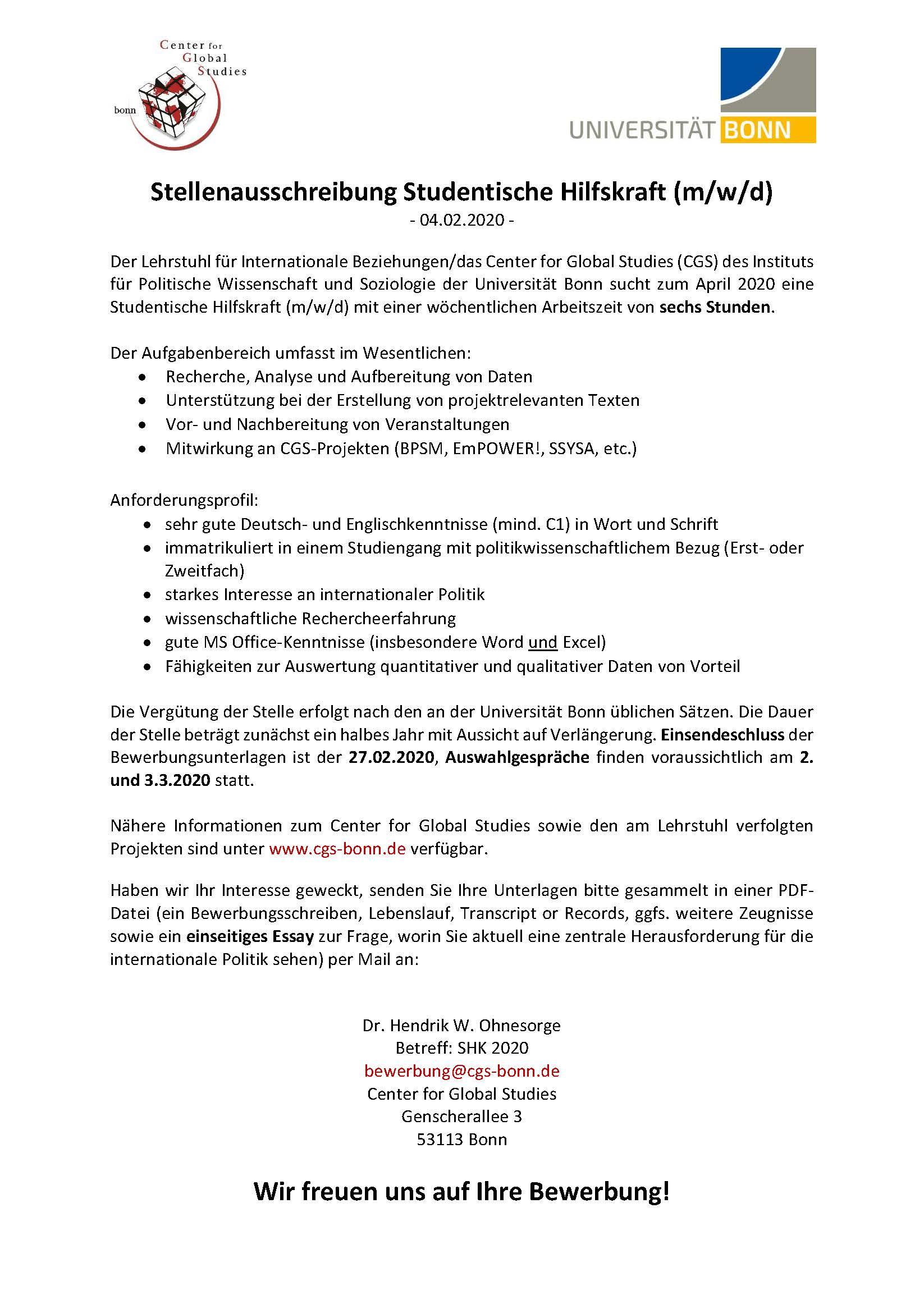 Kavoma Uni Bonn On Twitter Kavoma Bewerbung 10