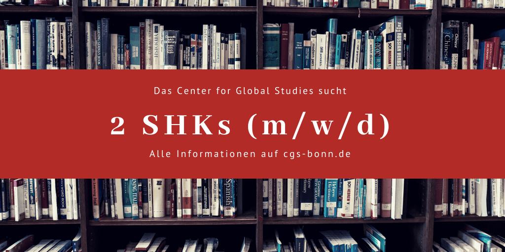 Das CGS sucht 2 SHKs zum April 2020