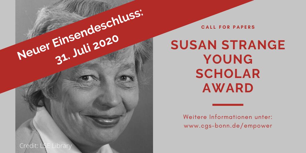 Einsendeschluss bis 31. Juli 2020 verlängert